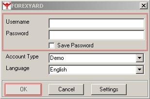 Forexyard login