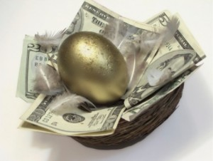 Gold trader egg