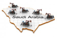 Oil pumps in Saudia Arabia